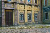 Facade of ancient building — Stock Photo