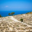 Ruins of ancient Caneiros, Greece — Stock Photo #30801689
