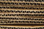 Zásobník corrugate kartonu — Stock fotografie