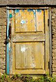 Grunge door — Stock Photo