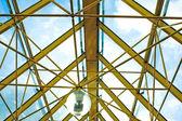 прозрачный потолок — Стоковое фото