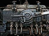 Old rusty engine closeup — Stock Photo