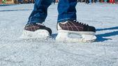 溜冰者 — 图库照片
