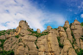 Montserrat mountains in Spain — Stock Photo