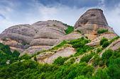 Peak on Montserrat mountains — Stock Photo