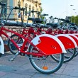 BARCELONA, SPAIN - JUN 08, 2014: Bicycle of the Bicing service i — Stock Photo #49020063