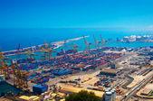 港湾貨物の多くに — ストック写真