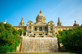 BARCELONA, SPAIN -JUN 10, 2014: National museum of Catalan visu — Stock Photo