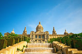 BARCELONA, SPAIN - JUN 10, 2014: National museum of Catalan visu — Stock Photo