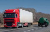 Truckers — Stock Photo