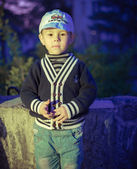 Boy playing — Stock Photo