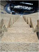 石の円形競技場にステップ ダウン — ストック写真