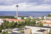 Panorama of Tampere, Finland — Stockfoto