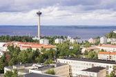 Panorama van tampere, finland — Stockfoto