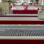 Conveyor Belt in Printing House — Stock Photo