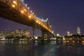New York by night - Midtown of Manhattan — Stock Photo