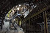 Máquinas de mina de carvão — Fotografia Stock