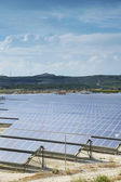 Renewable Energy: Solar as the best way to produce natural energ — Foto de Stock
