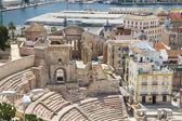 Roman Amphitheater in Cartagena, Spain — Stock Photo