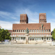 Panorama of City Hall, Oslo — Stock Photo