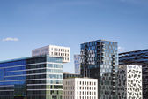 Edifici moderni in oslo, norvegia — Foto Stock