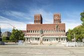 Panorama of City Hall, Oslo — Stock Photo