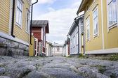 Wooden Housing - UNESCO World Heritage site — Stock Photo