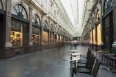 Saint Hubert Royal Galleries in Brussels — Stock Photo
