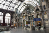Antwerp Railway Station — Stock Photo