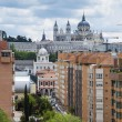 Madrid Panorama — Stock Photo