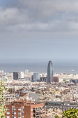 Barcelona's Financial District — Stock Photo