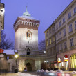 Main street in historic Krakow, Poland — Stock Photo #37248077