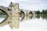 Famoso ponte di Avignone, Francia — Foto Stock