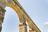 Ancient Roman Aqueduct in Spain, Europe — Foto de Stock