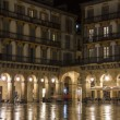 Constitution Square in San Sebastian — Stock Photo