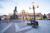 Krakow market square, Poland, Europe — Stock Photo
