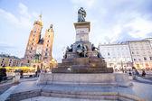 Krakow market square, Poland, Europe — Foto Stock