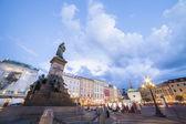 Krakow market square, Poland, Europe — Stockfoto