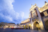 Market square in Krakow, Poland — Stock Photo