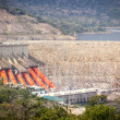 Постер, плакат: Akosombo Hydroelectric Power Station on the Volta River in Ghana