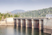 Akosombo Hydroelectric Power Station on the Volta River in Ghana — Foto de Stock