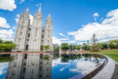 The Church of Jesus Christ of Latter-day Saints' Temple — Stock Photo