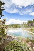 Park Narodowy Yellowstone — Zdjęcie stockowe