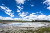 Yellowstone National Park, Utah, USA — Stock fotografie