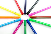 Color pen — Stockfoto