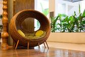 Cadeira de vime — Foto Stock
