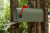 Postlåda — Stockfoto