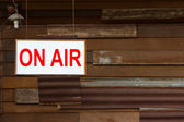 On Air Sign — Stock Photo