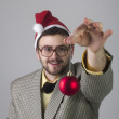 Nerdy Christmas — Stock Photo