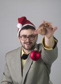 Nerdy Christmas — Stock Photo